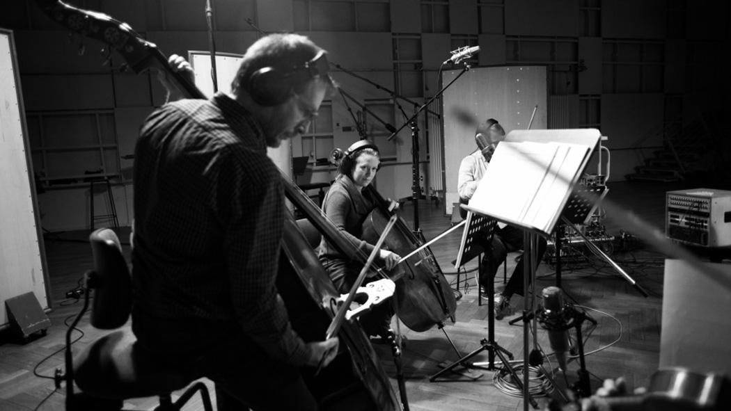"""Kerim König - Studio Session """"_in between"""" / Teldex Studio Berlin / Foto: Jose D. Jimenez"""