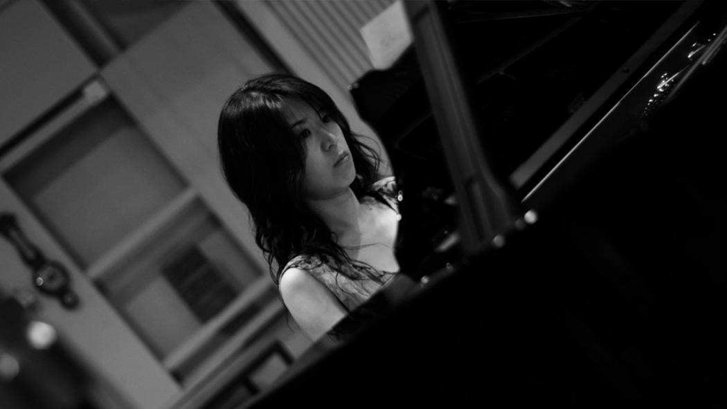 Kerim König - Waltzes (2015) / Studio Session mit Mayuko Miyata im Teldex Studio Berlin / Foto: Jose D. Jimenez